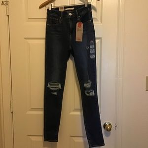Levis 721 high rise skinny